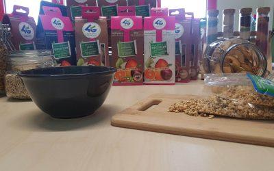 Γιαούρτι με μήλο flakes 4G