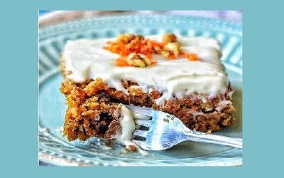 Κέικ με αποξηραμένο καρότο 4G