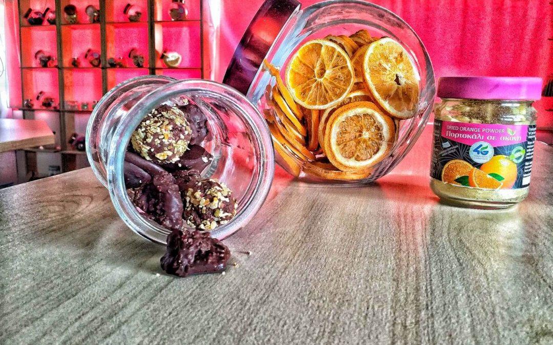 Εύκολα σοκολατάκια με πορτοκάλι