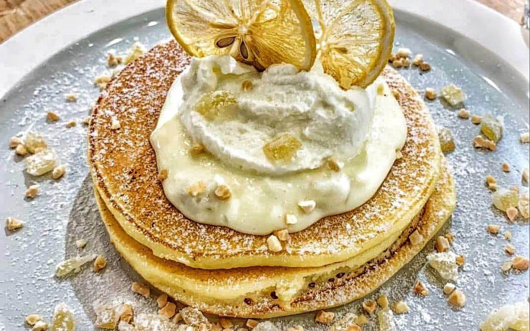 Pancakes λεμονιού από σκόνη λεμόνι 4G