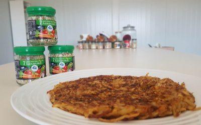 Ρόστι – τηγανίτα πατάτας με μείγμα λαχανικών 4G