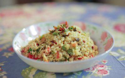 Σαλάτα κινοα με ΜΙΧ 7 λαχανικών