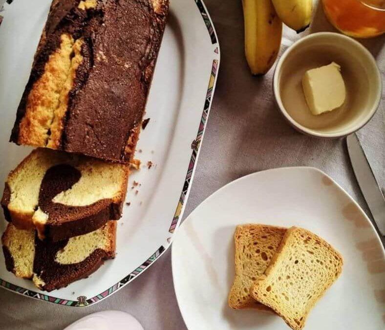 Δίχρωμο μαμαδίστικο κέϊκ