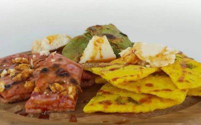 Πολύχρωμες πίτες της Ελπίδα Χαραλαμπίδου